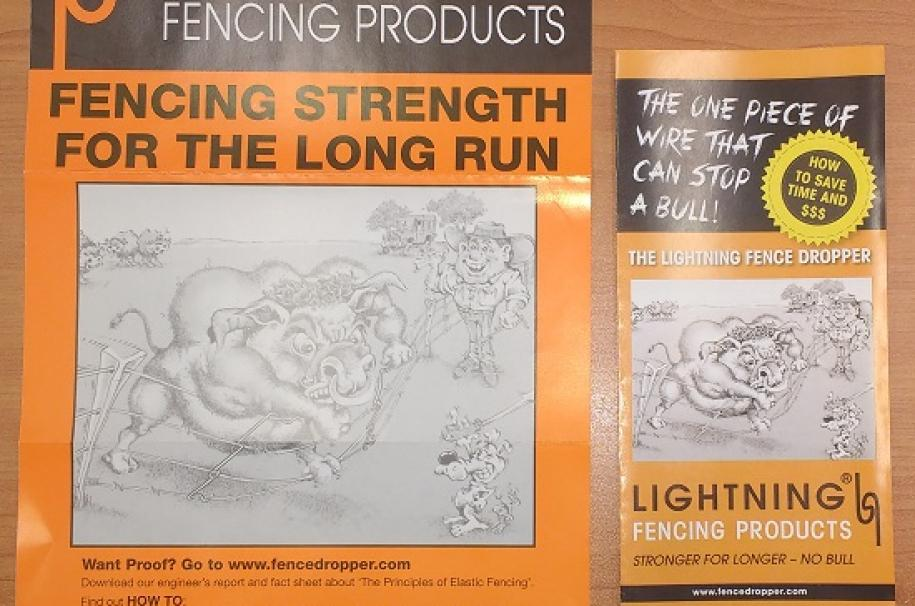Lightning Fence Droppers Nz Only Advanced Engineering